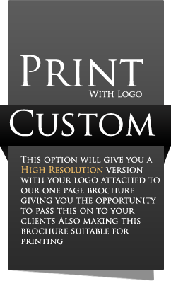 Custom Print Document